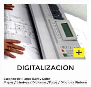 Digitalización de Planos