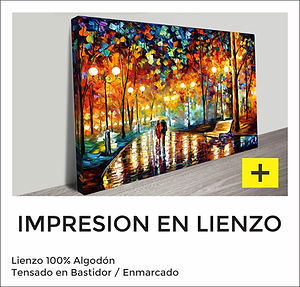 Impresión en Lienzo