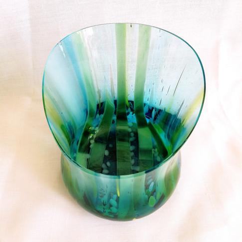 Hour Glass Aquatic Vase