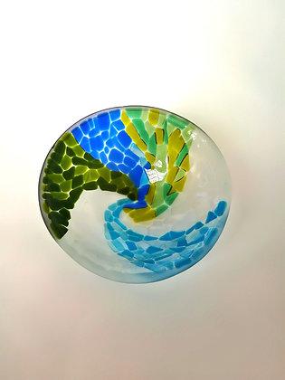 Mosaic Spiral Bowl