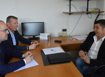 Reunión con los candidatos del PP a los Ayuntamientos de Ponferrada y Cubillos del Sil.