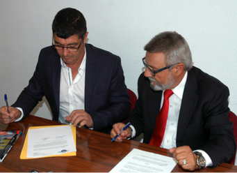 Firma Adhesion con FETRANSA