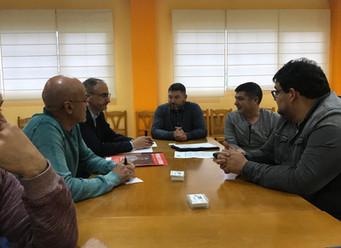 Reunión con los candidatos del PSOE al Ayuntamiento de Ponferrada