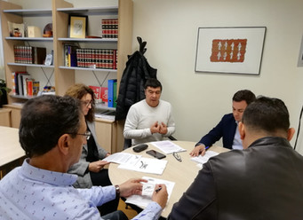 Reunión con los candidatos del PSOE al Congreso y Senado por la provincia de León