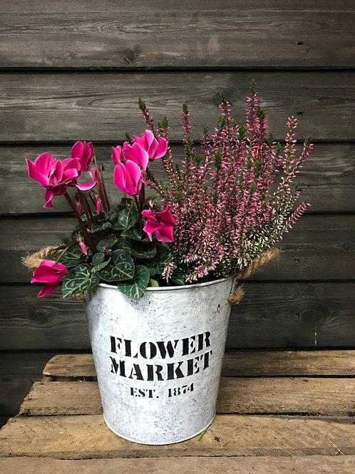 Flower Market bucket