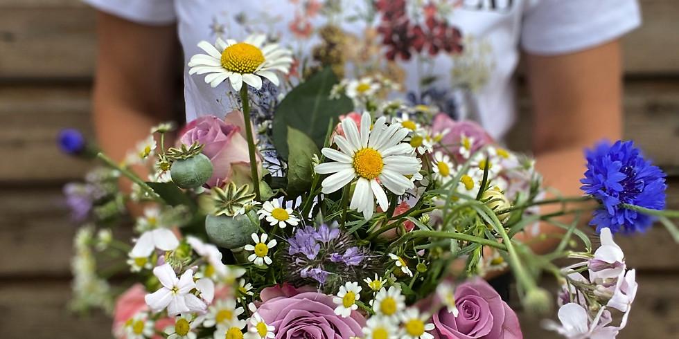Summer Bouquet Arranging