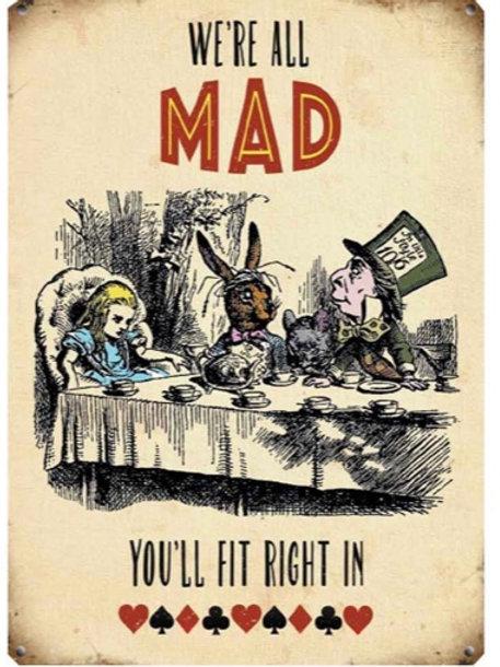 Alice In Wonderland Sign