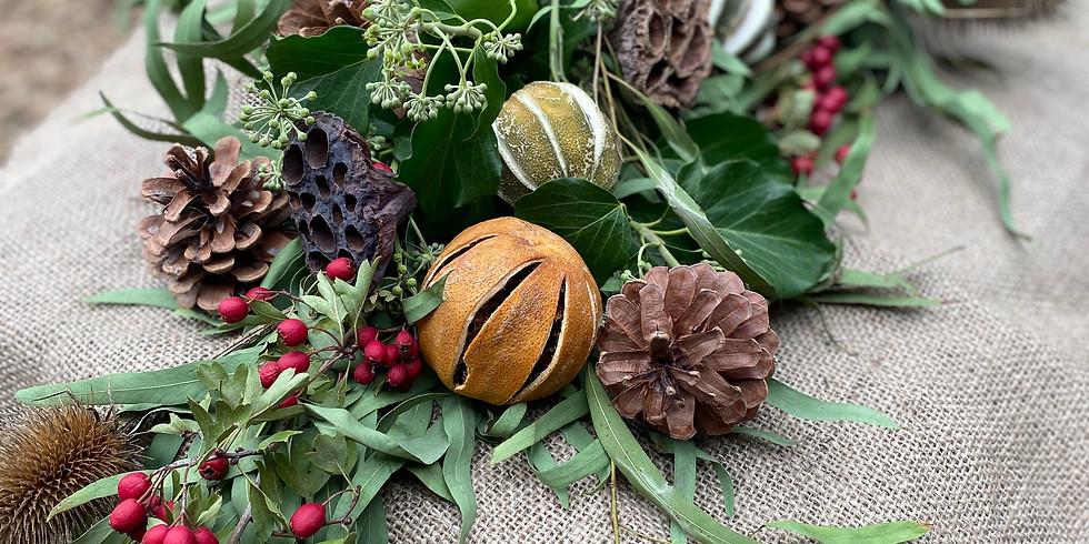Christmas Garland Making