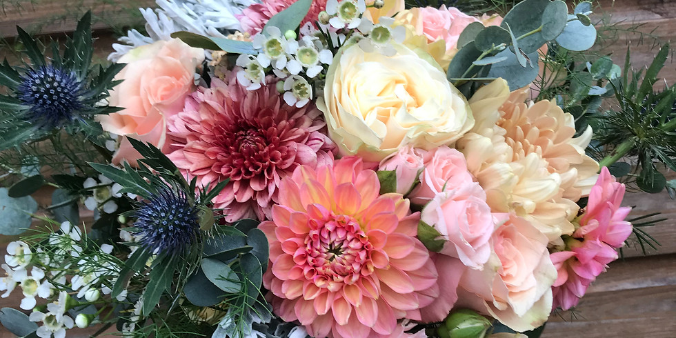 Mother's Day Hand-tied Bouquet Workshop 2pm-4pm