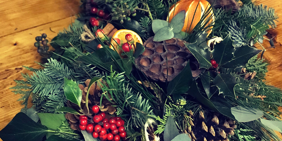 Christmas Centrepiece Workshop 2-4