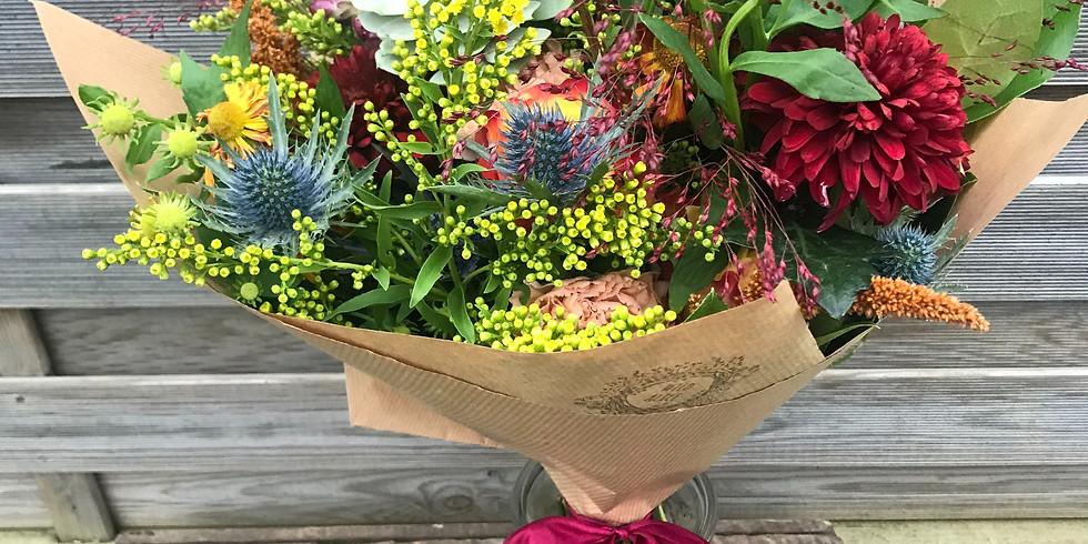 Autumnal Bouquet Arranging