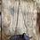 Thumbnail: Rustic metal bird feeder
