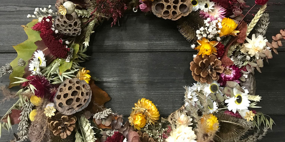 *Forever flowers* dried autumn design