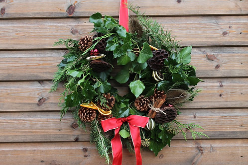 Festive Feels Wreath