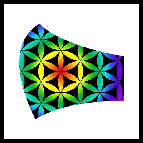 Rainbow Geometry Mask