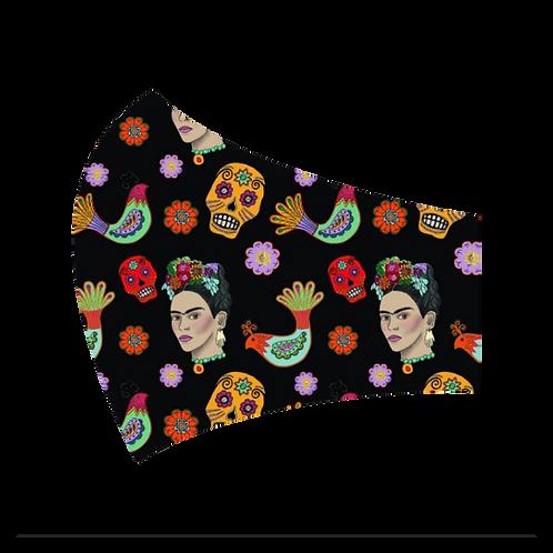 Colorful Frida Mask