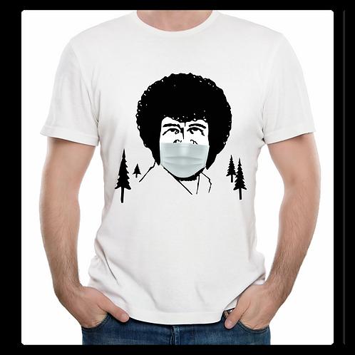 Bob Ross Mask Shirt