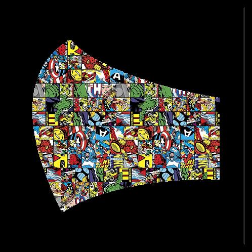 Marvel Square Mask