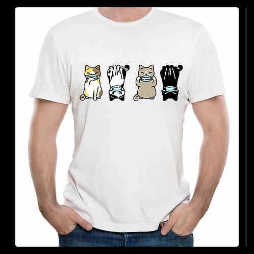 Kitty Cartoon Mask Shirt