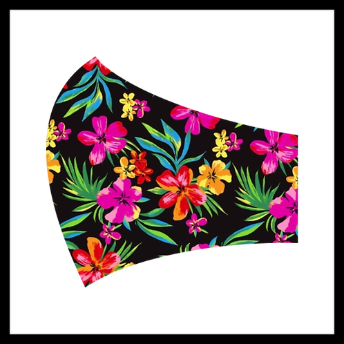 Hawaii Flowers Mask