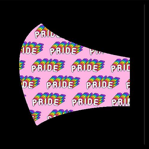 Pink Pride Mask