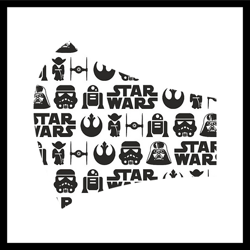 Star Wars Icons Mask