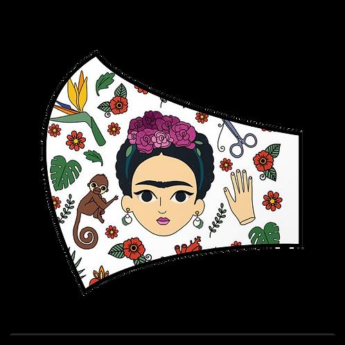 Cartoon Frida Mask