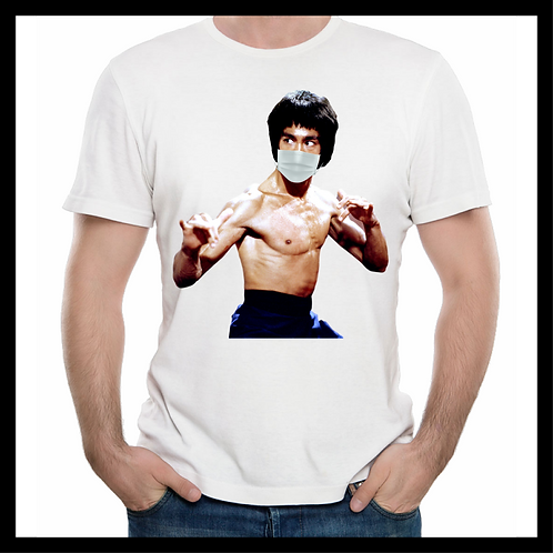 Bruce Lee Mask Shirt