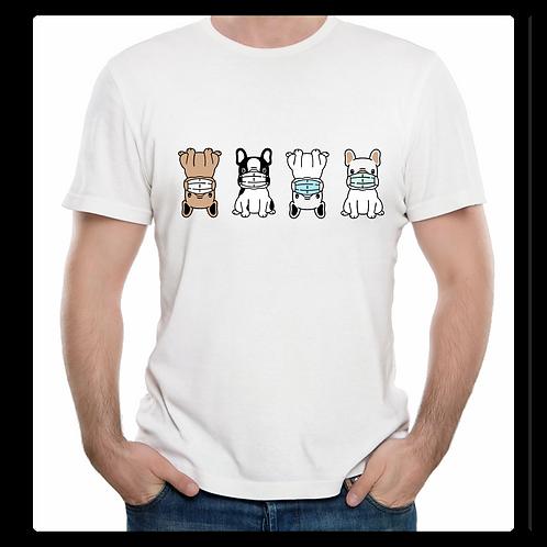 Puppy Cartoon Mask Shirt
