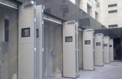 Складные ворота Shtromat с автоматикой