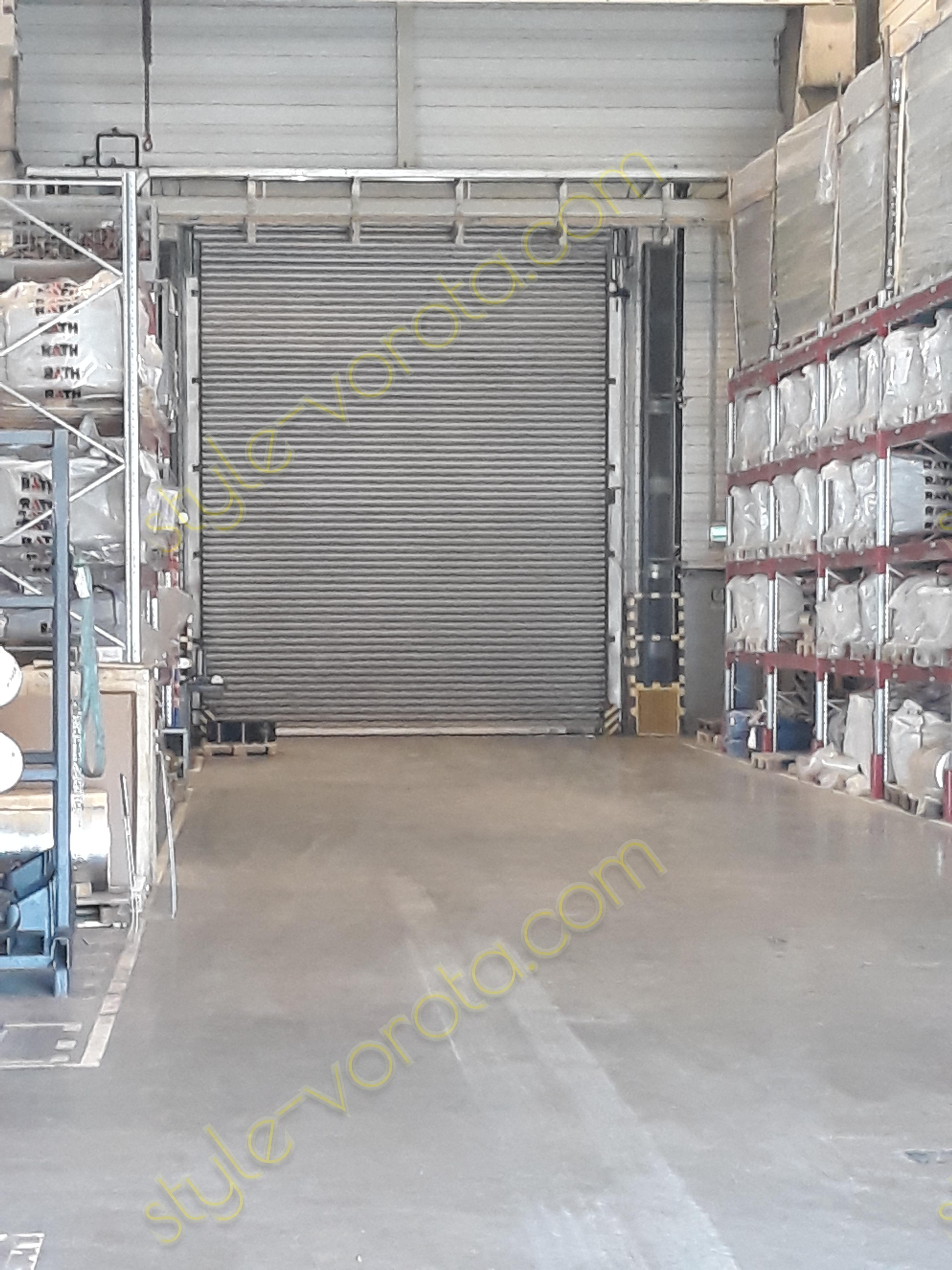 Рулонные ворота Hoermann 4500x5500