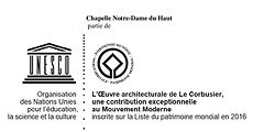 Logo Chapelle Notre-Dame du Haut_UNESCO-