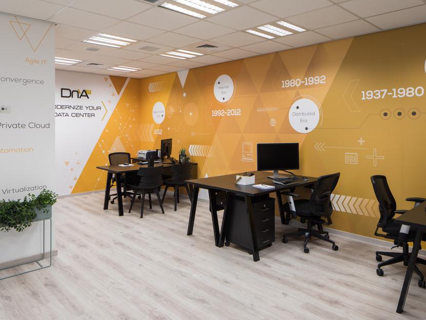משרדי חברת  DnA IT