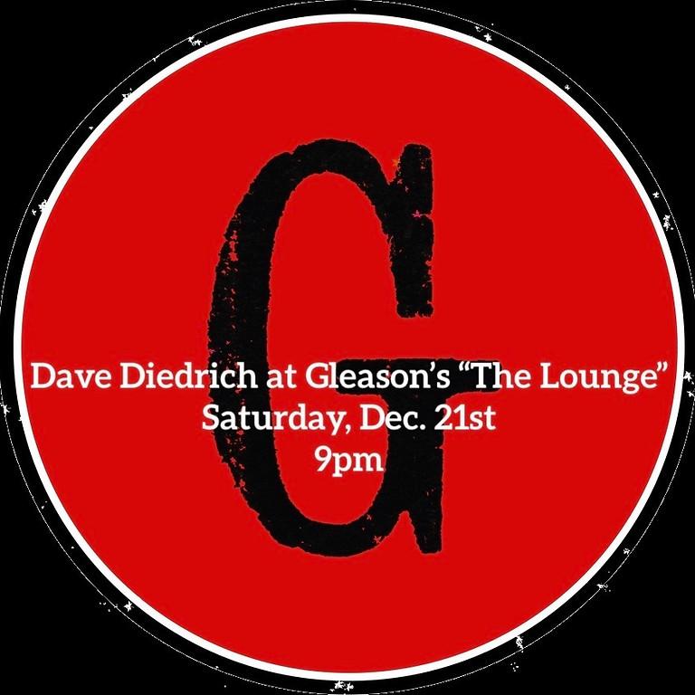 Dave Diedrich at Gleason's Lounge