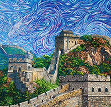 Eduardo Rodriguez Calzado, Great Wall of