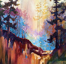 Teresa Smith, Atmosphere II , 48x60, Oil