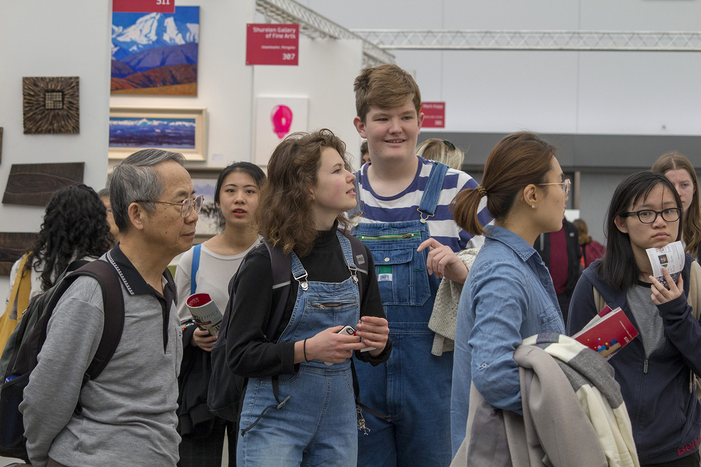 Art Ignites at Art Vancouver 2019 (Youth