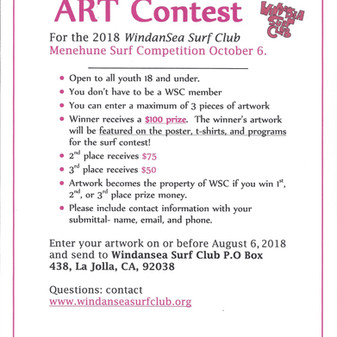 Menehune Art contest deadline approaching!