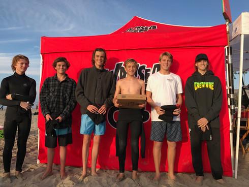 Junior Men Finalists