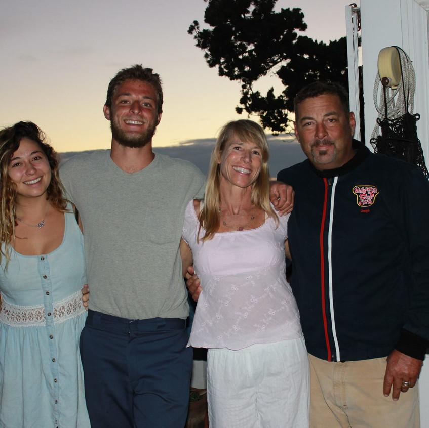 Kyra, Jo, Mir and Michael Joseph