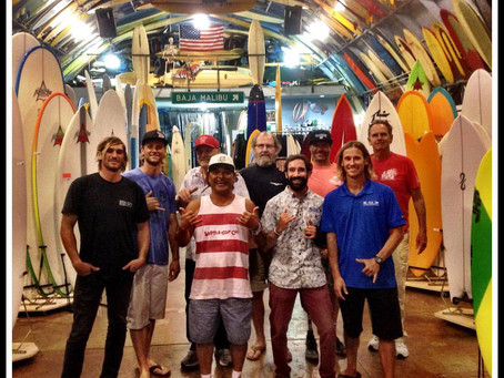 WSC Members attend ISA Judging and Officiating Course held at Bird's Surf Shed!!!