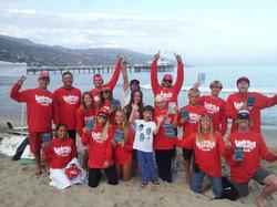 WSC comp team at Malibu