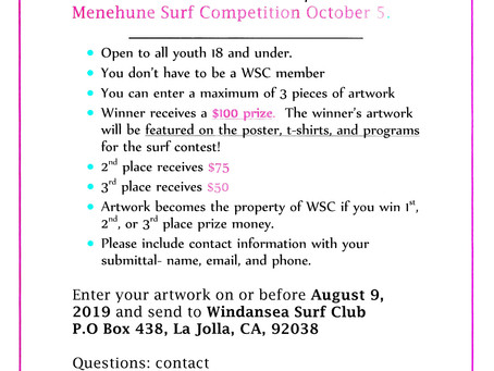 The Menehune Art Contest--- is On!