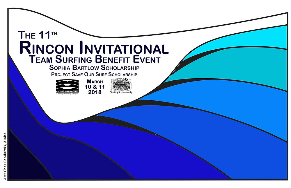 11TH RINCON INVITATIONAL TEAM SURFING BENEFIT EVENT
