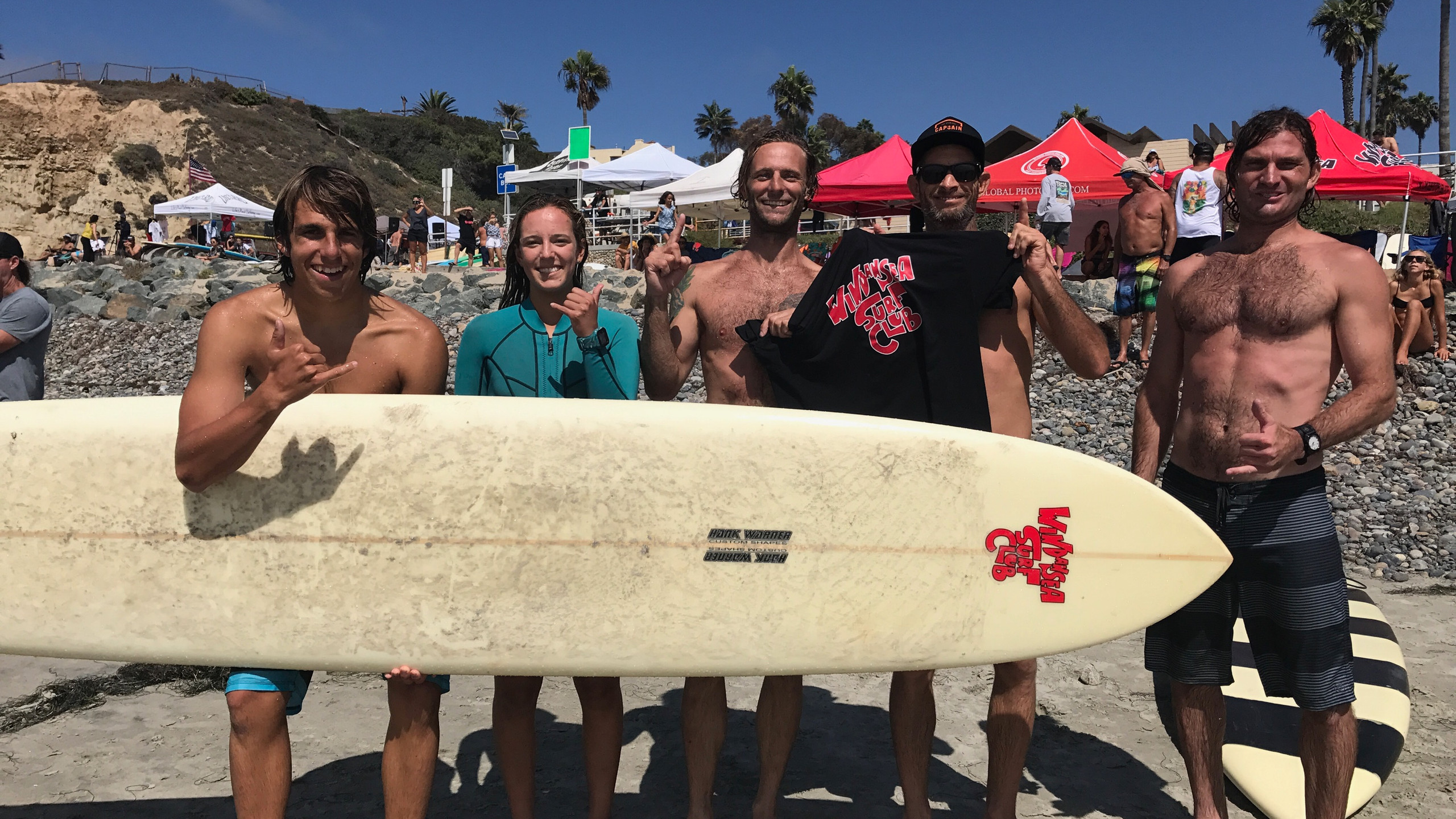 1st place - WSC Paddle Team!