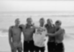 WSC Undefeated Paddleboard Team pic: Mike Burner, Butch Van Artsdalen, Rusty Miller, Bill David, Billy Caster