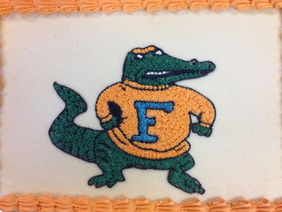 Never Agree to Make a Florida Gator Cake