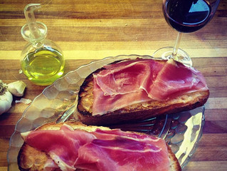 Speck on Toasted Rustic Country