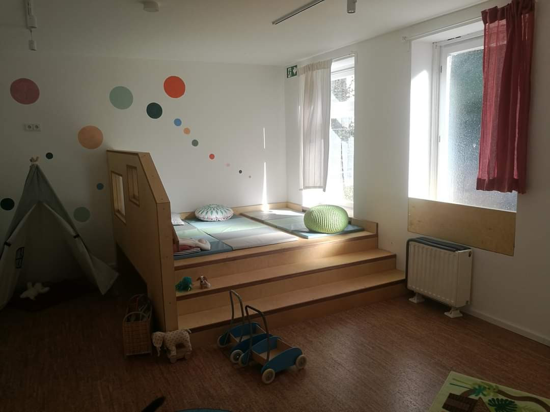 Bewegung/Ruhe/zweiter Raum