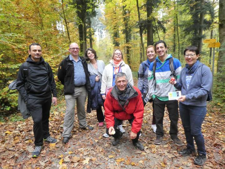 Autumn walk in Wildpark Bruderhaus, 2018